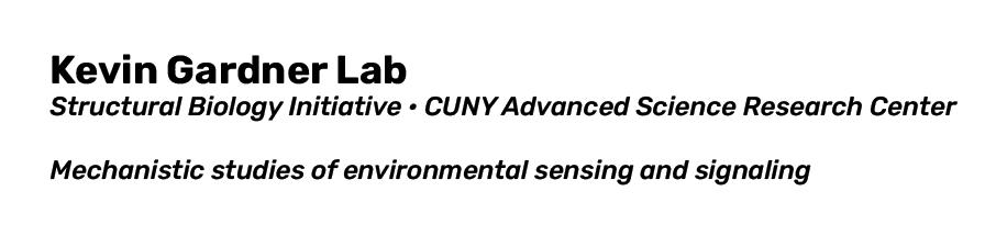 Kevin Gardner lab Logo